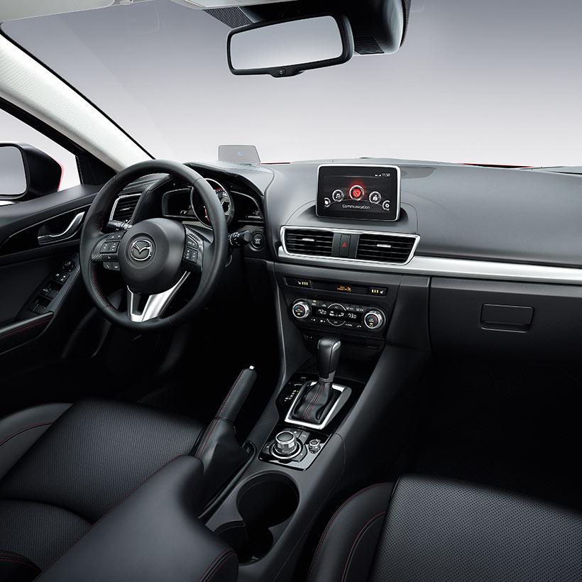 Les premières images officielles de la Mazda 3 2014 dévoilée ...