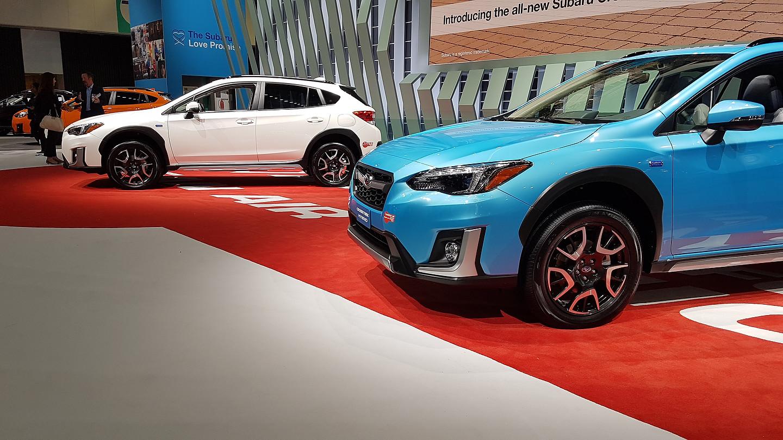 Salon de Los Angeles 2018: Subaru présente son premier ...