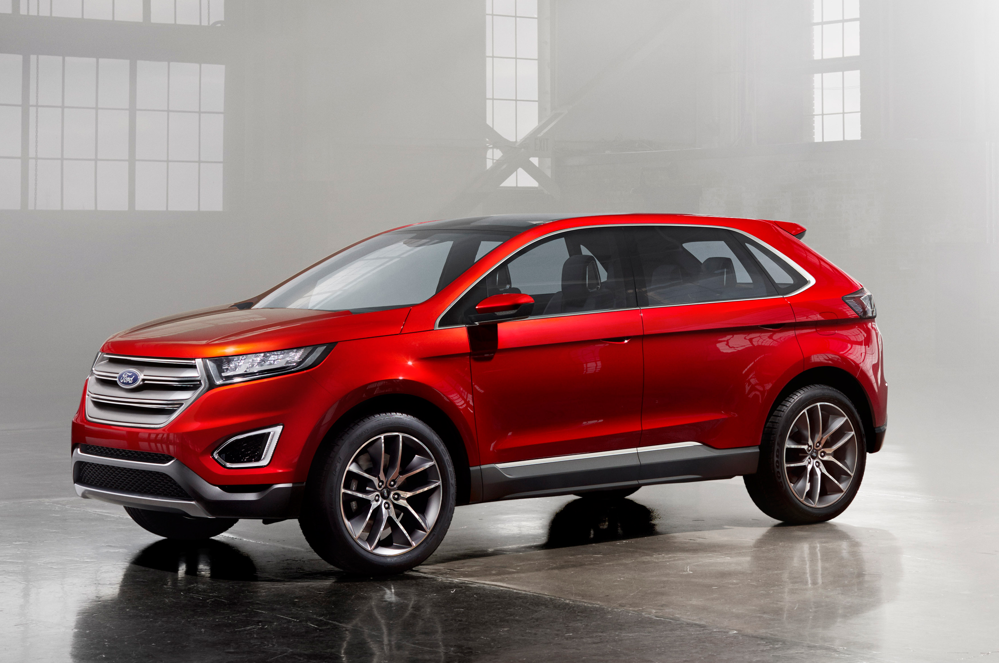 ford edge 2015 400 nouveaux employ s l usine d oakville ecolo auto. Black Bedroom Furniture Sets. Home Design Ideas