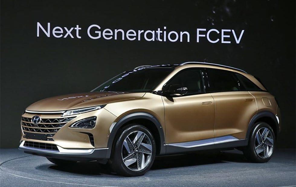 Hyundai hydrogène pile a combustible