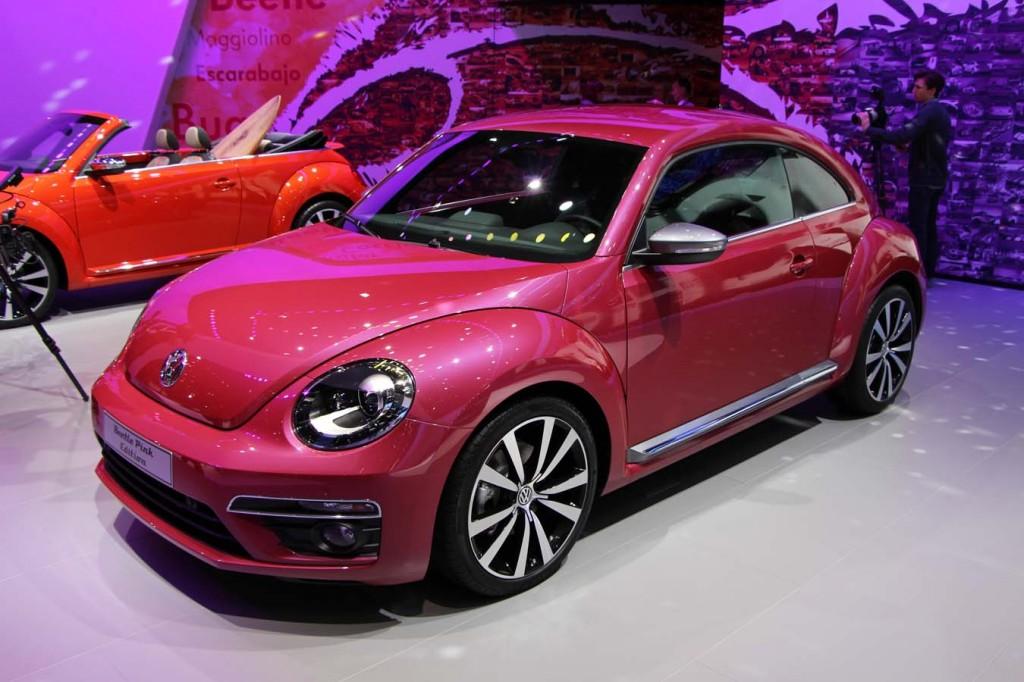 la volkswagen beetle toute en couleur new york ecolo auto. Black Bedroom Furniture Sets. Home Design Ideas