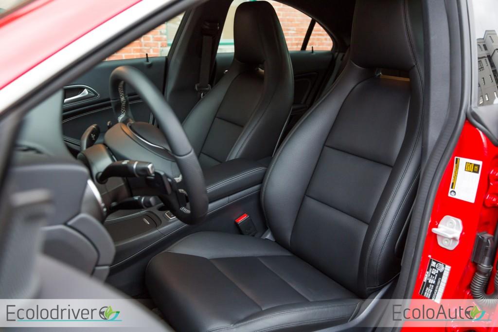 Essai routier Mercedes-Benz CLA 250 4Matic 2015: L'élément