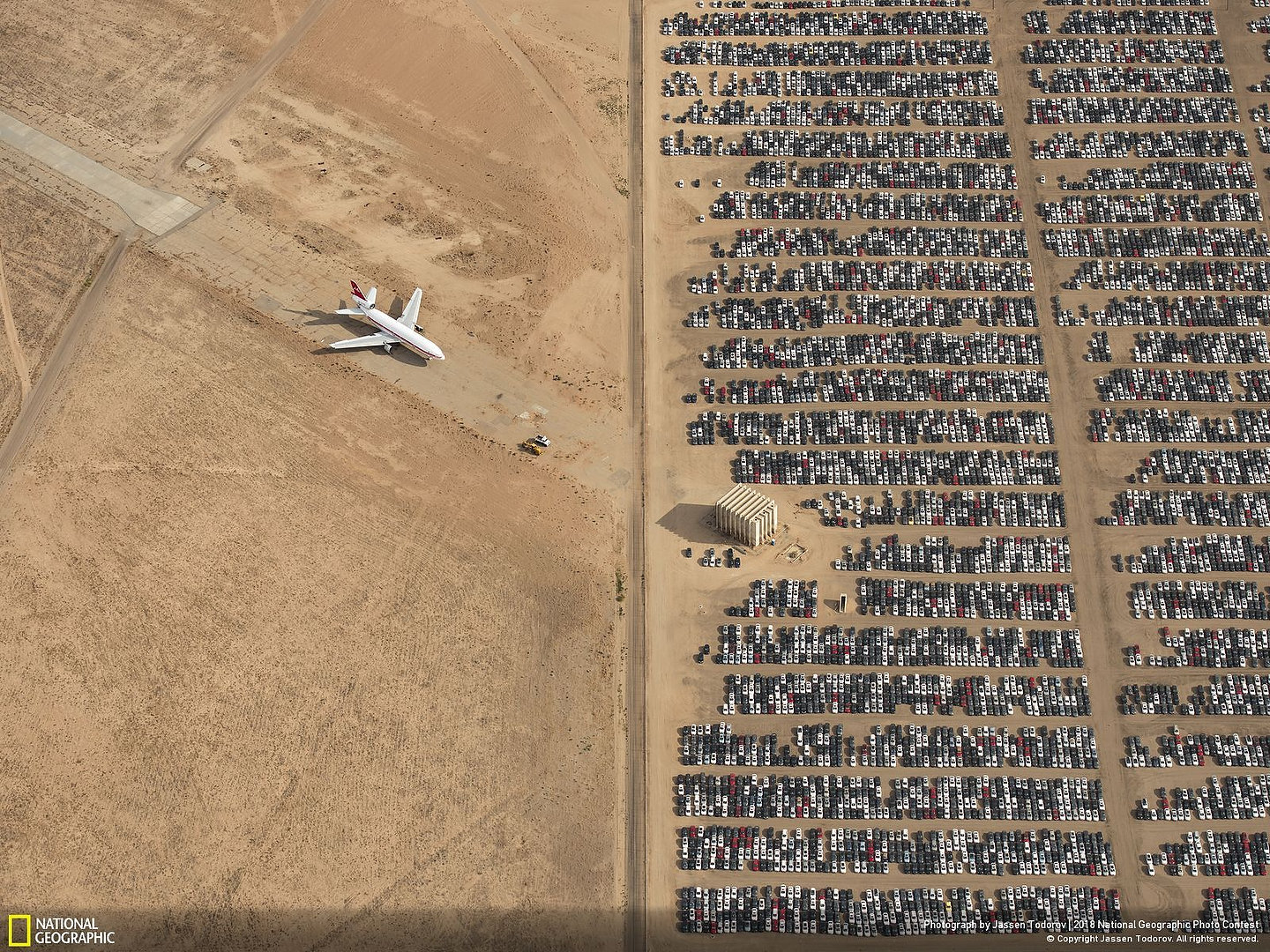Volkswagen cimetière Victorville Californie Photo: Jassen Todorov / 2018 National Geographic Photo Contest