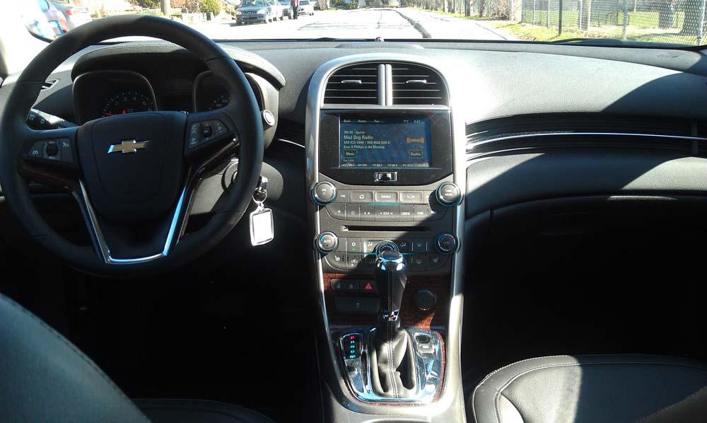 Essai Routier Chevrolet Malibu ECO 2013