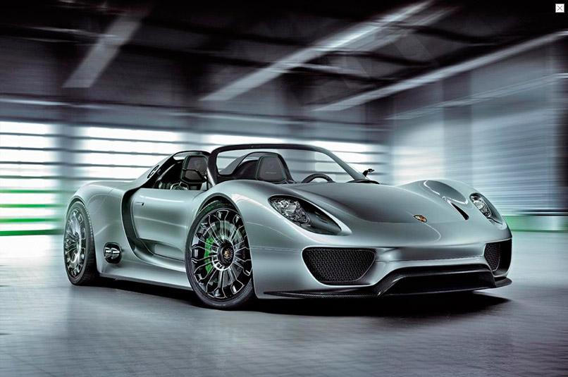 Porsche 918 spyder 3