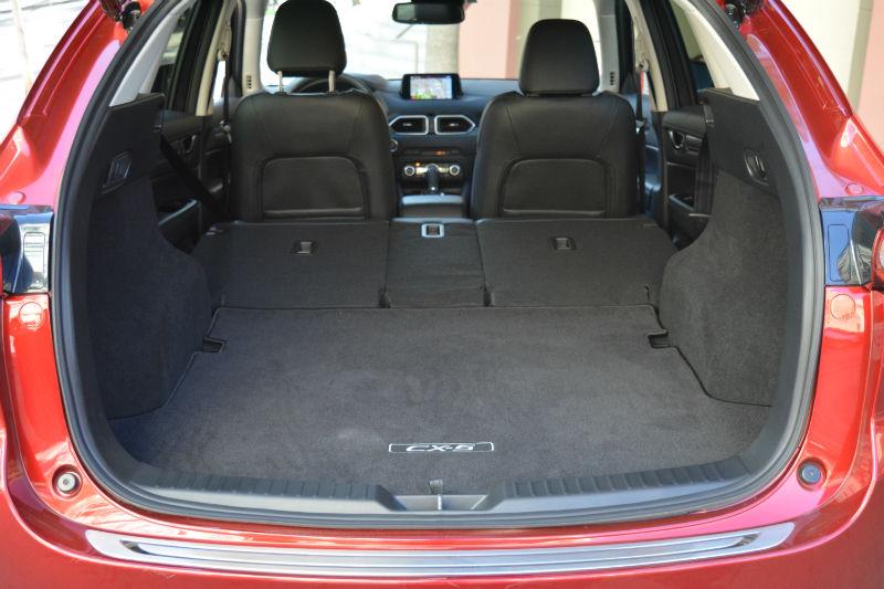 Mazda CX-5 coffre