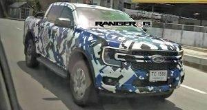 2023 Ford Ranger Front Leak Revealed!