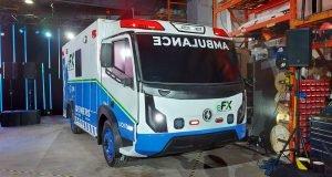 Ambulance électrique