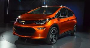 Chevrolet Bolt voiture nord-américaine de l'année