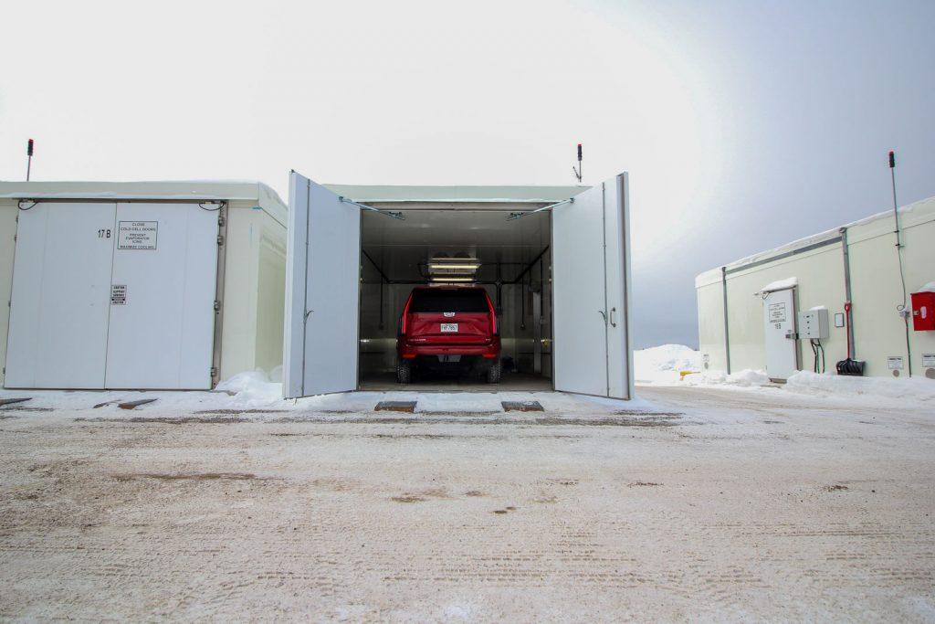 Centre d'essais de GM à Kapuskasing, Ontario