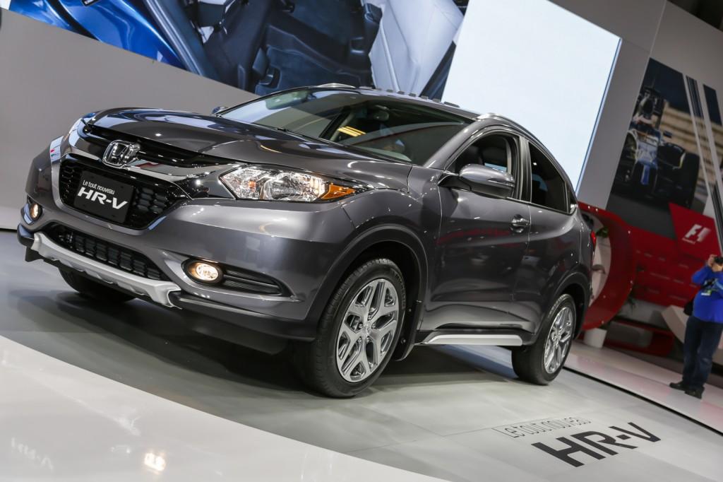 Honda HR-V salon de l'auto de Montréal