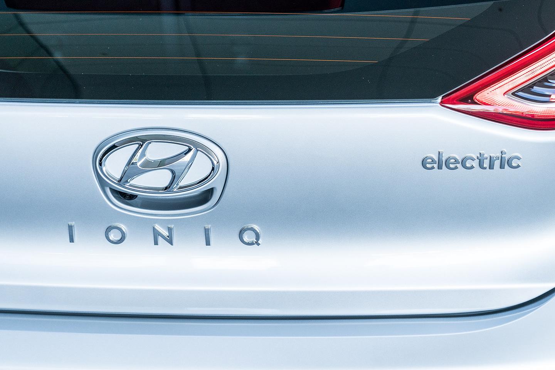 Hyundai IONIQ Electric Vehicle 2019