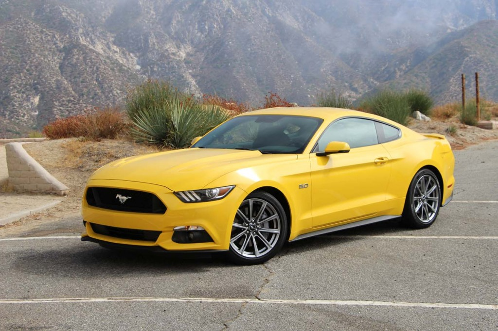 Ford Mustang 2015 essai