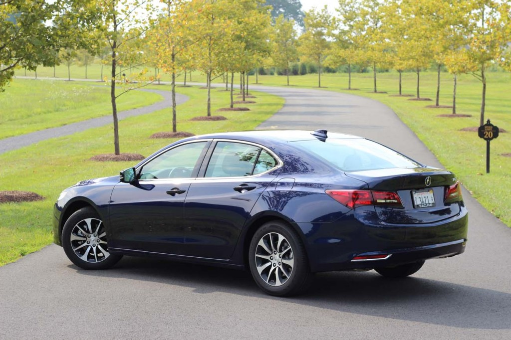 Acura TLX 2015 essai