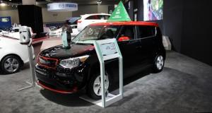 Kia Soul EV 2015 voiture verte canadienne de l'année