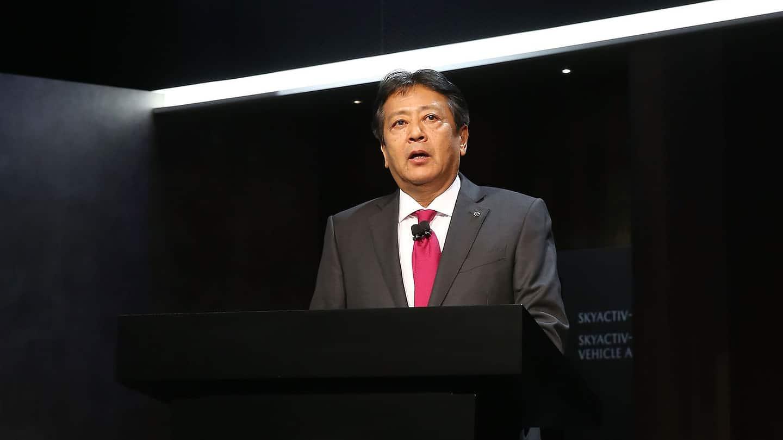 Akira Marumoto, Mazda President and CEO
