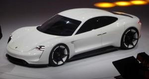 La Porsche Mission E dévoilée à Francfort