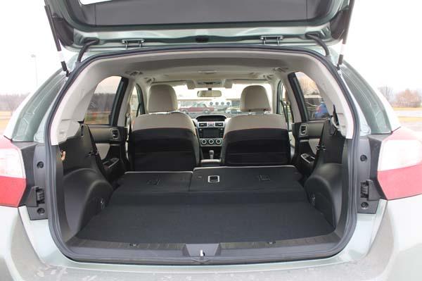 Essai Subaru Crosstrek - valise