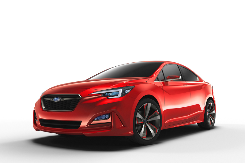 Subaru Impreza Concept Los Angeles 2