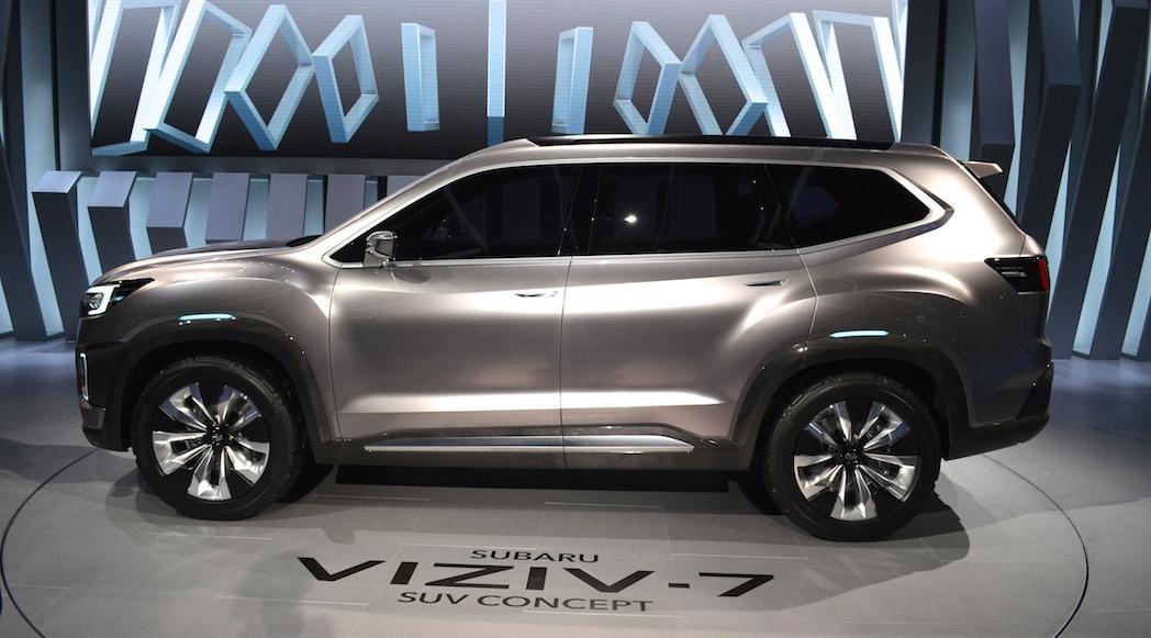 Subaru Viziv 7 SUV Concept 2016