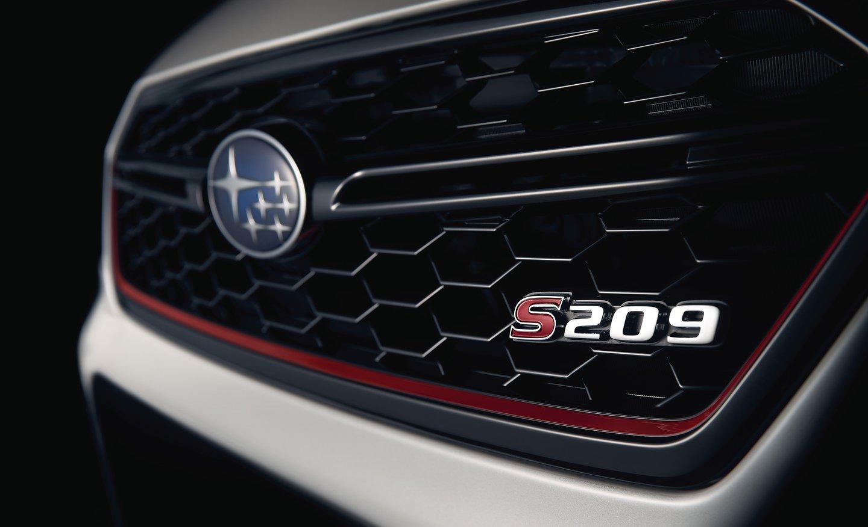 Subaru WRX STI S209 2020