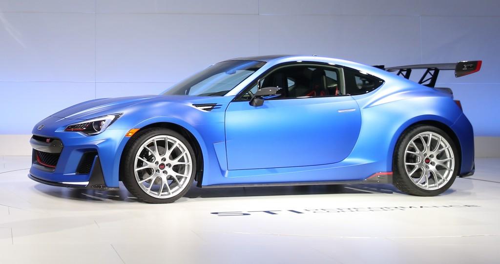 Subaru STI Concept New York