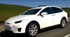 Tesla Model X Californie