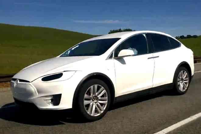 Tesla Model X Californie