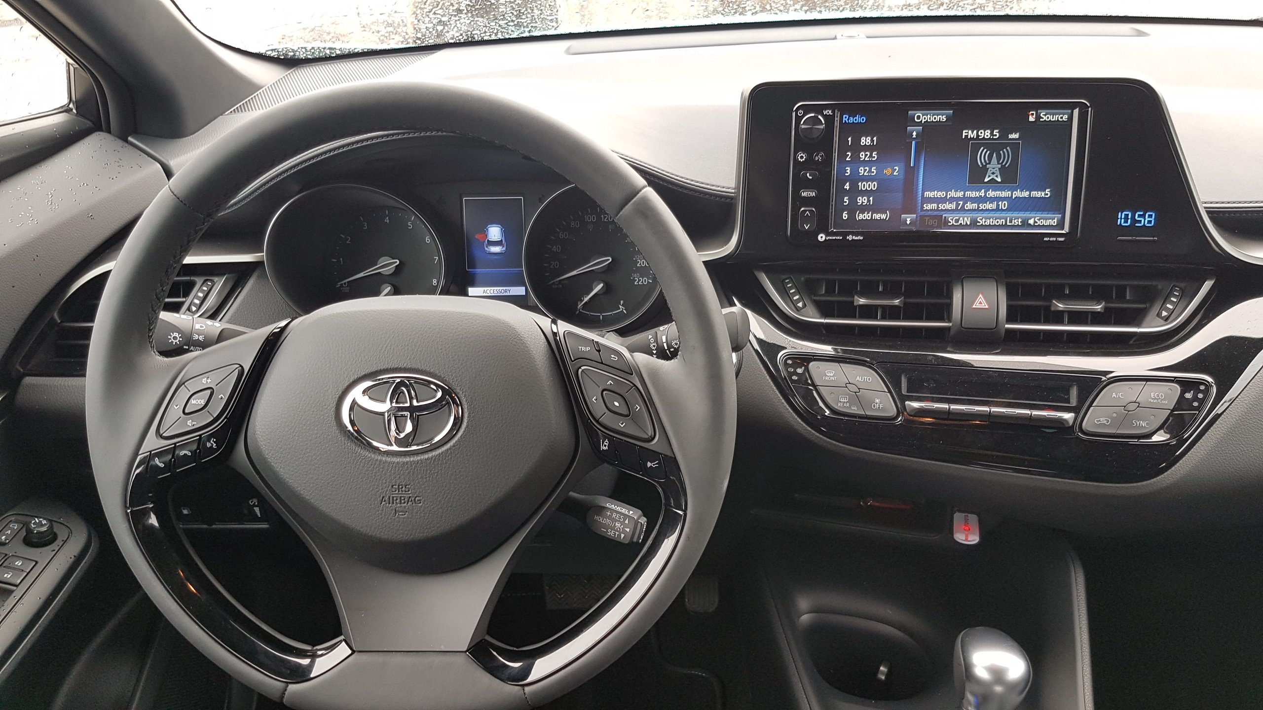 Toyota C-HR 2017 (intérior)