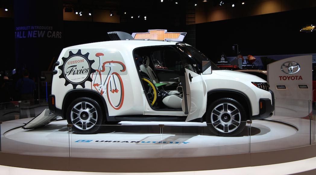 Toyota U2 Urban Utility Concept 2014
