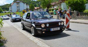VW GTI MK2 purple