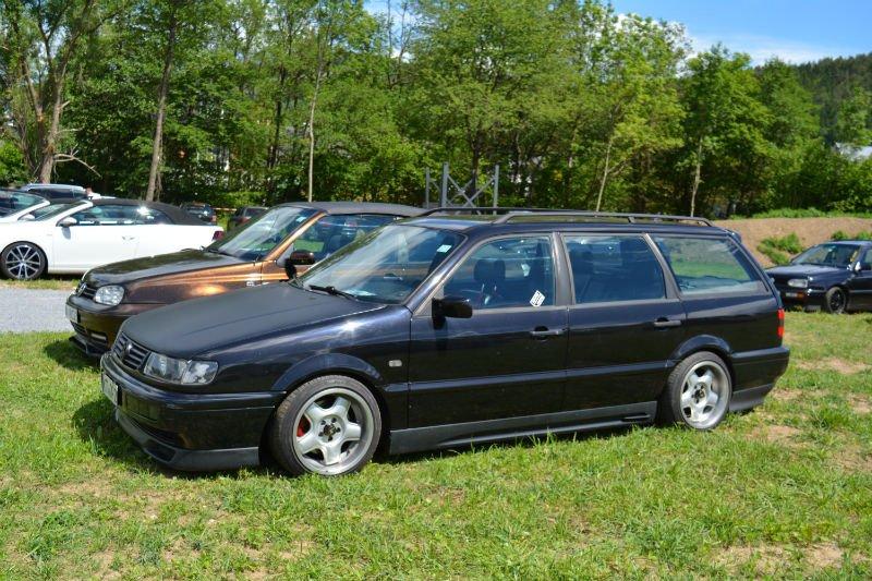 Volkswagen Passat B4 Noir