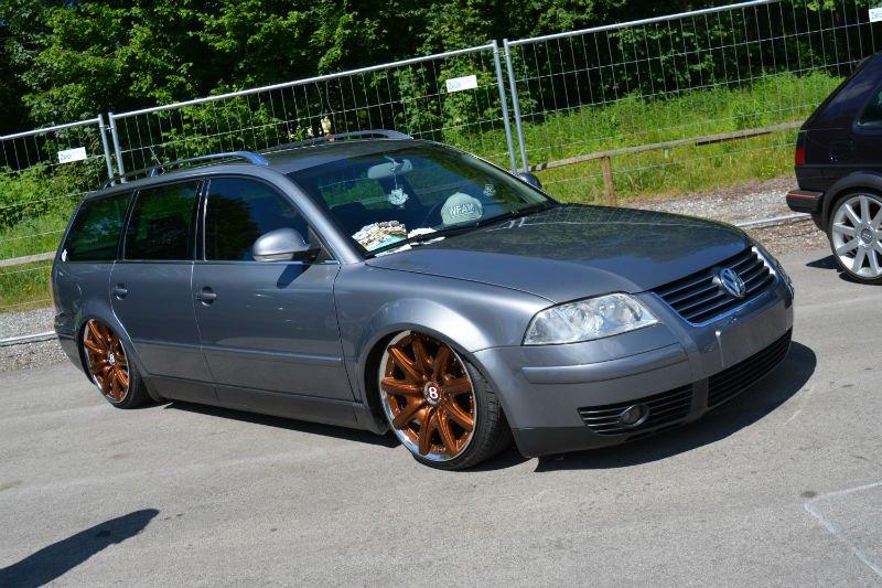Volkswagen Passat B5 gris