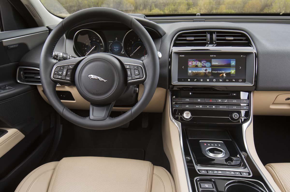 Essai routier Jaguar XE diesel