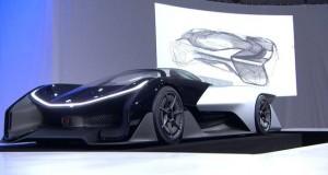 faraday future concept CES
