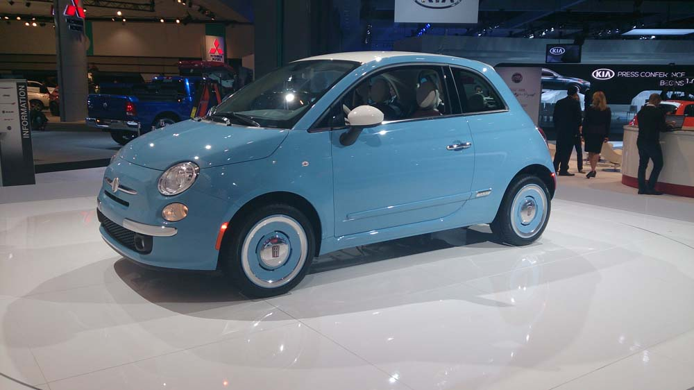 Voiture pour étudiant Fiat 500