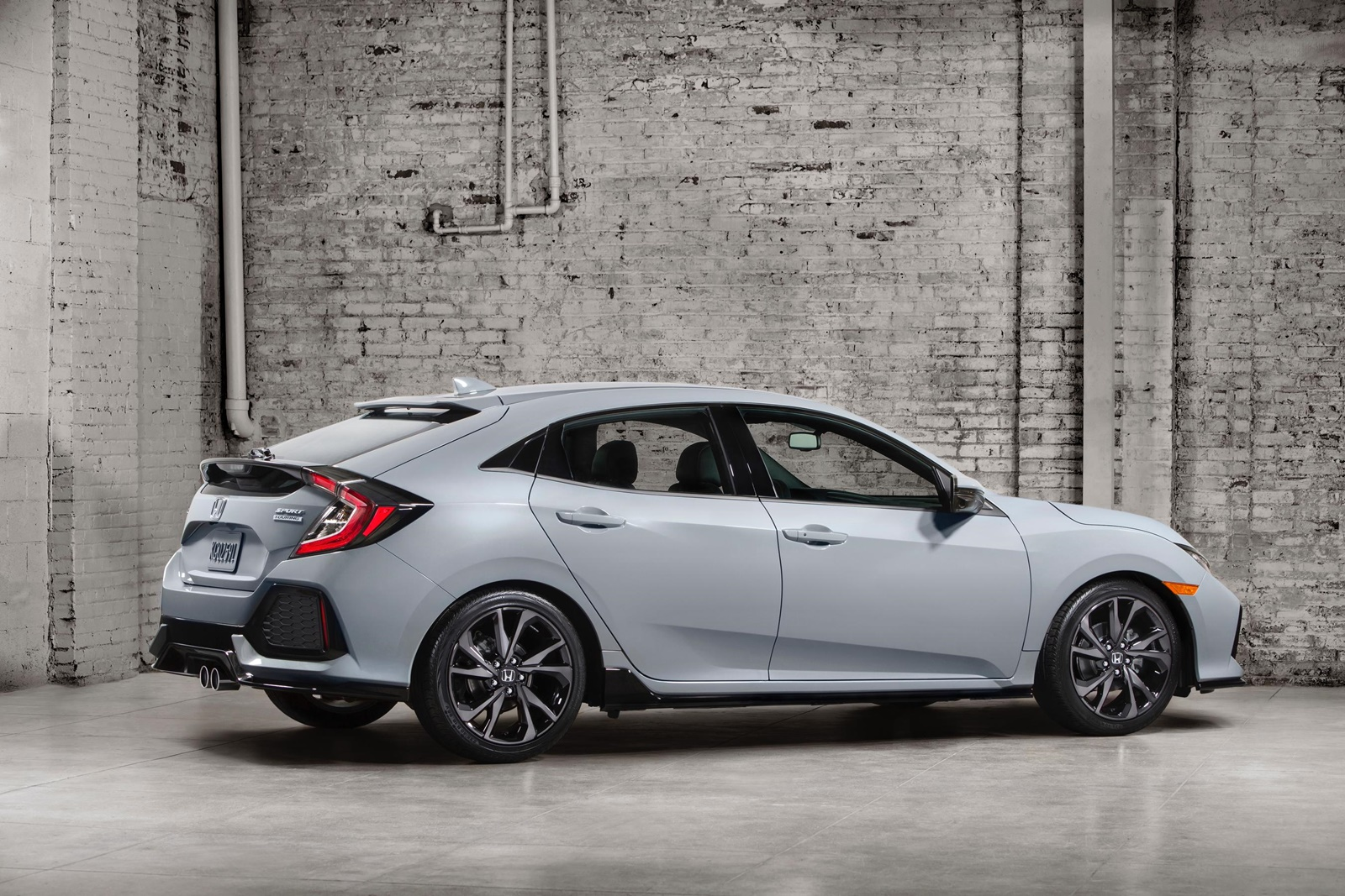 All-New 2017 Honda Civic Hatchback Arrives This Fall in North Am