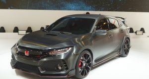 Honda Civic Type R Paris