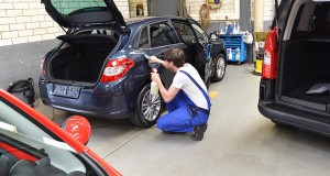 lavage auto printemps