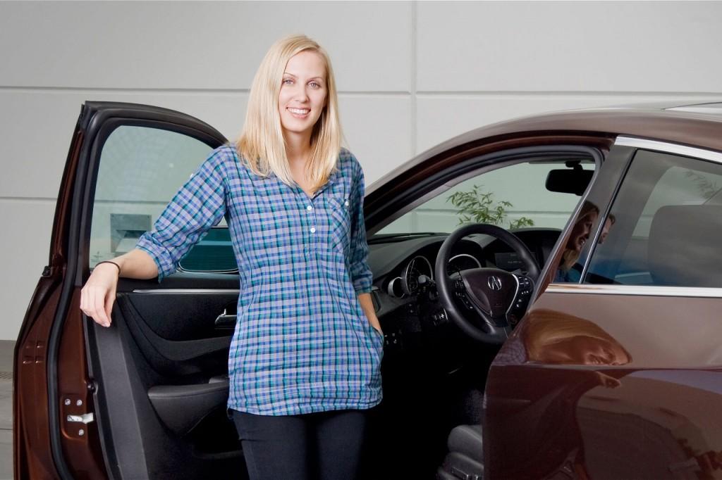 Acura NSX Michelle Christensen